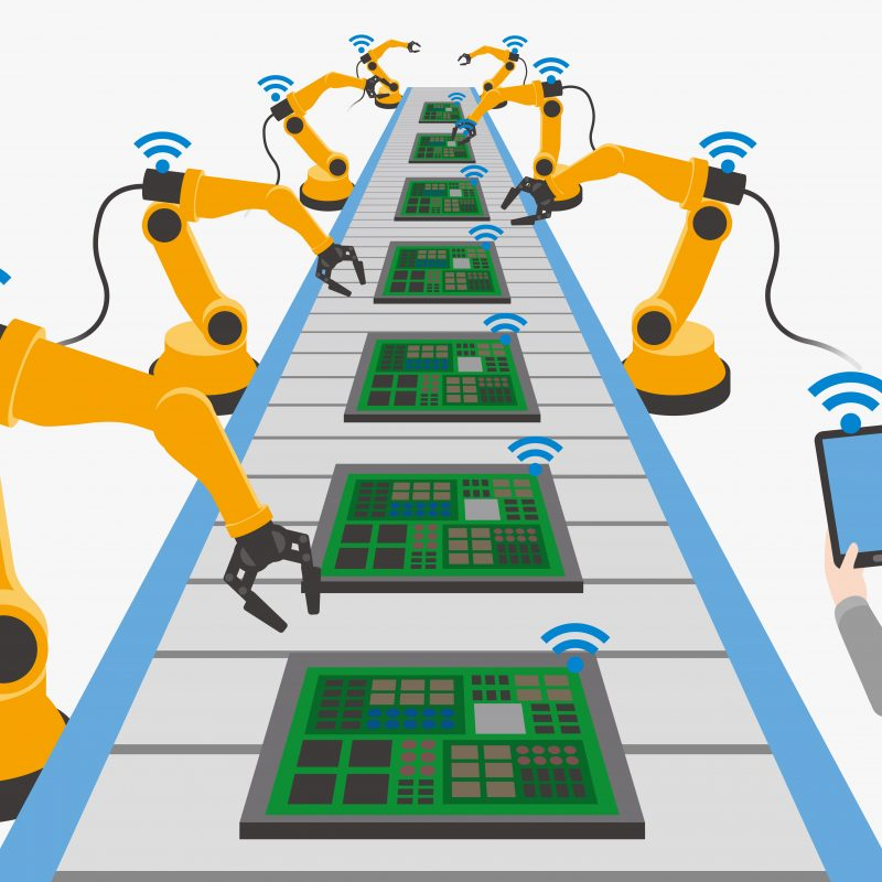 robot interconnessi - industria 4.0